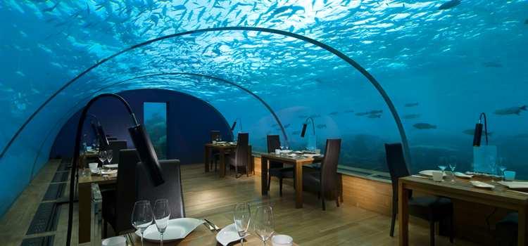 Restoran bawah laut di Maldives via panduanwisata.id