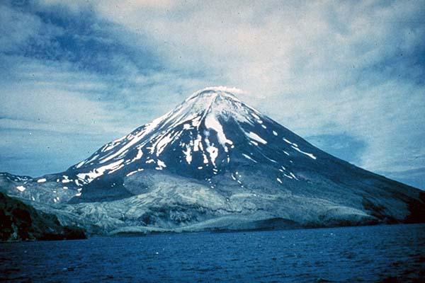 Strato volcano