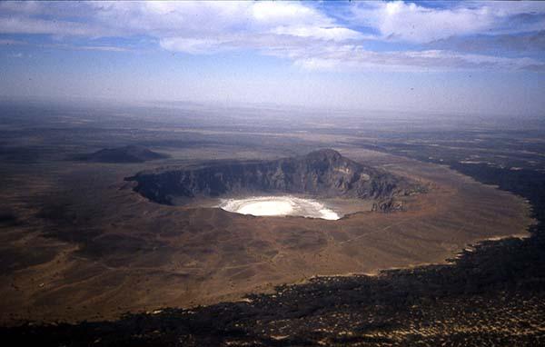 Maar volcano
