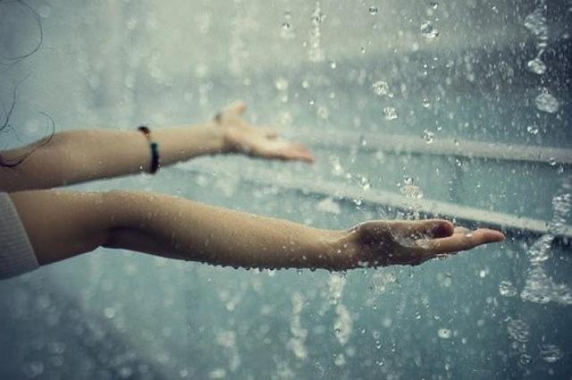 Filosofi hujan sabar