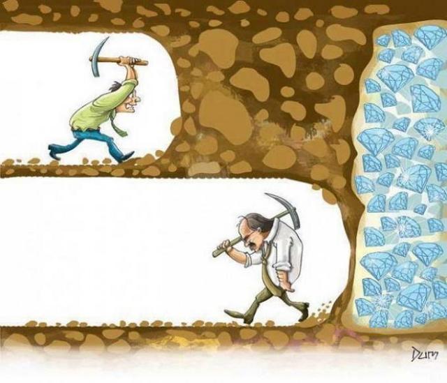 Filosofi semut pantang menyerah