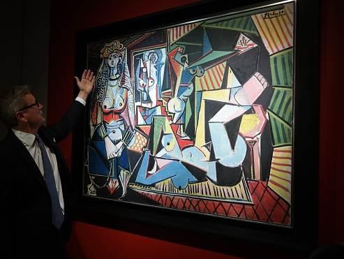 lukisan abstrak paling mahal